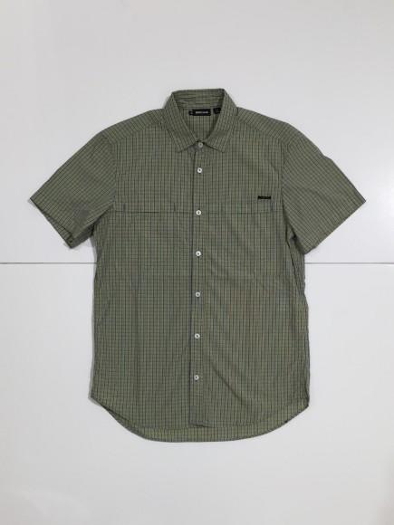 SS チェックシャツ